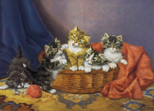 A Basket of Mischief, Daniel Merlin