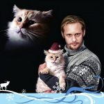 Alexander Skarsgard and cat, famous cat lovers