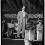 Big band leader Sam Donahue with Hep, 1946, famous cat lovers