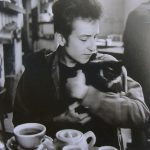 Bob Dylan and cat2, famous cat lovers