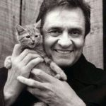 Johnny Cash and Kitten