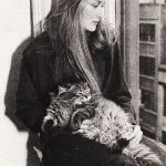 Meryl Streep and cat, famous cat lovers