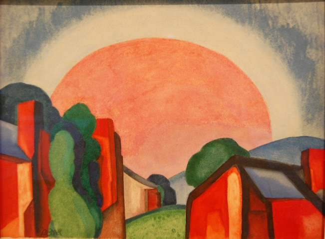 Oscar Bluemner painting
