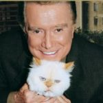 Regis Philbin and Ashley his cat