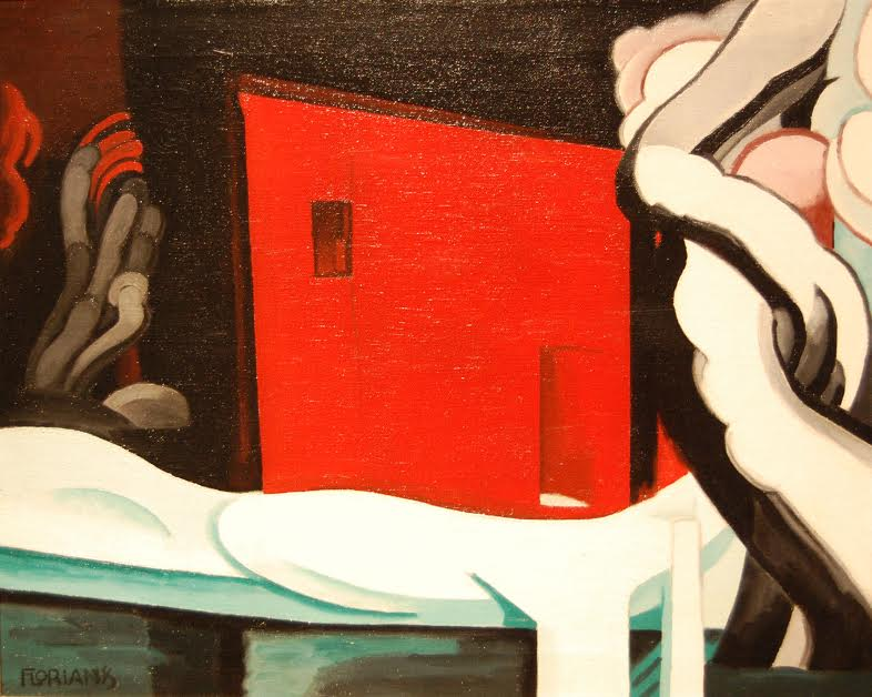 Snow and Glow by Oscar Bluemner, 1935