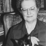 Andre Norton and cat