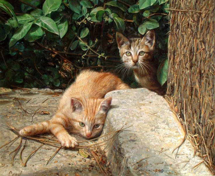 Antonio Guzman Capel-2, cat art