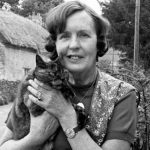Barbara Pym and cat 2