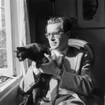 Bomans and cat, famous cat lovers-writers