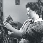 Doris Lessing and cat2