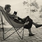 Elizabeth Bishop and her Cat-Tobias, 1954