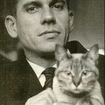Gerard Reve and cat