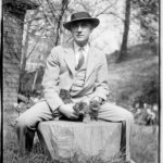 William Carlos Williams - Poet with cat