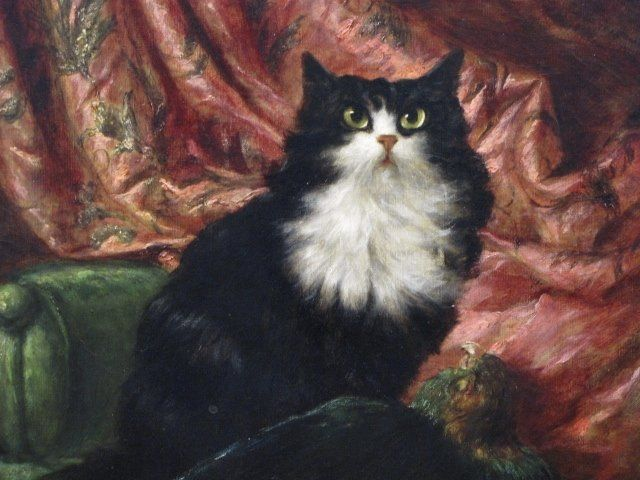 Carl Kahler, Sultan, cat art