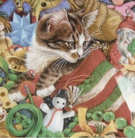13-Lesley Anne Ivory, Christmas Cats