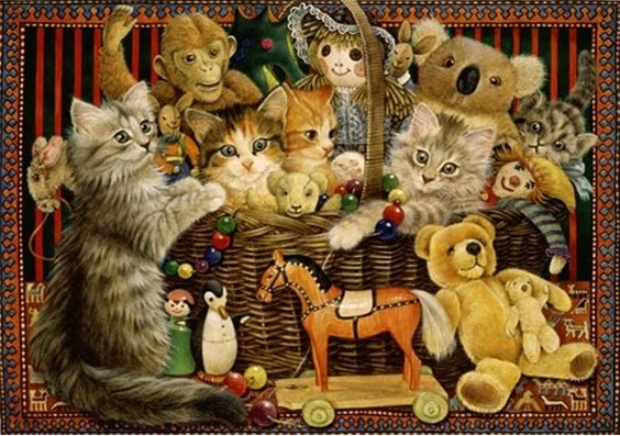 14-Leslie Anne Ivory, Christmas Cats