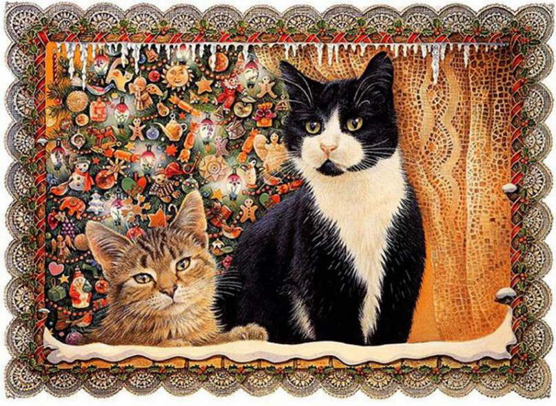 29-Lesley Anne Ivory, Christmas Cats