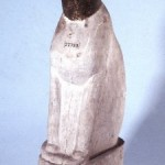 Cat Wooden Mummy Case Head green, Body White Graeco Roman, cat in ancient Egyptian art
