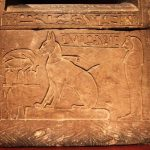 Ta Mit's Cat Sarcophagus Pet of Thutmose 28th Dynasty