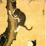 Cats and Sparrows 18th Century Byeon Sangbyeok Myojakdo cats in korean art