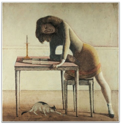 The Game of Patience 1945-55 Cats Balthus