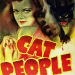 cat people, cats in film, cats in cinema, women and cats