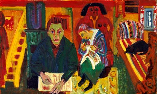 Resultado de imagen para Ernst Ludwig Kirchner,