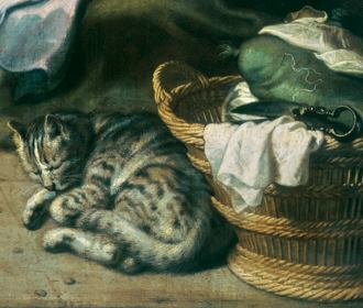 Cats In Art 16th Century The Great Cat