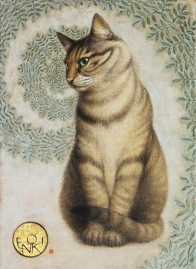 Toshiyuki Enoki, Tabby Cat Looking Left