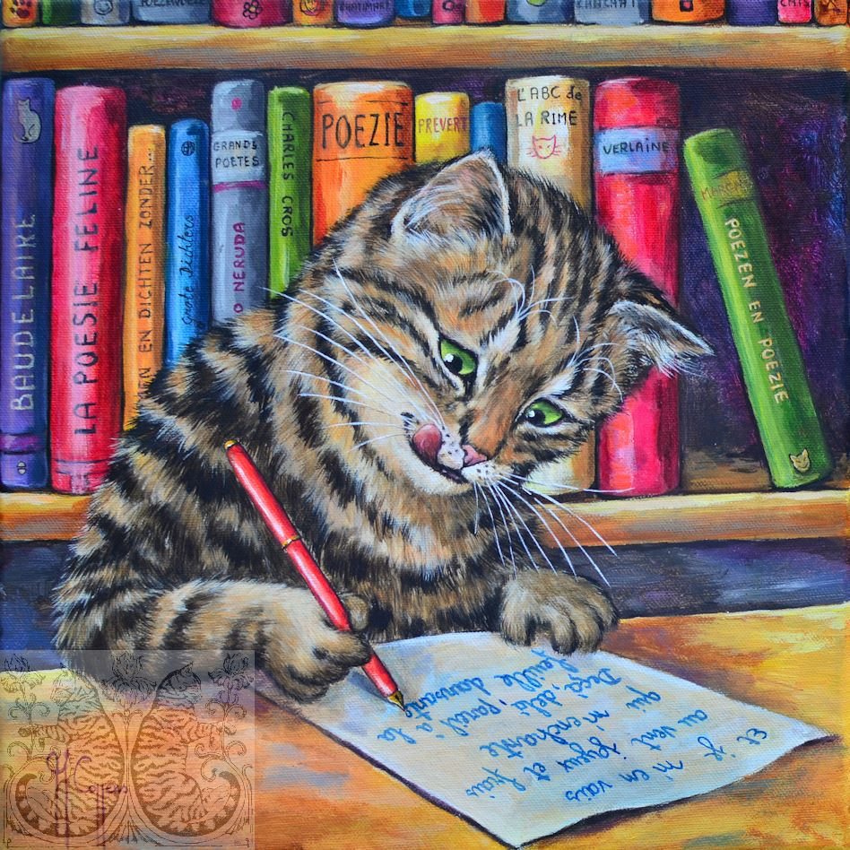 Martine Coppens, cats in art, 11