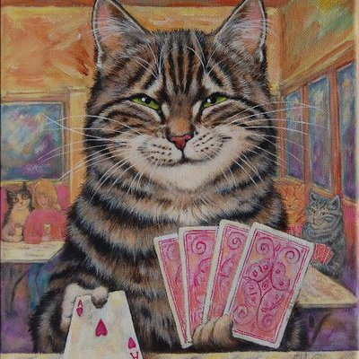 Playing Cards, Martine Coppens