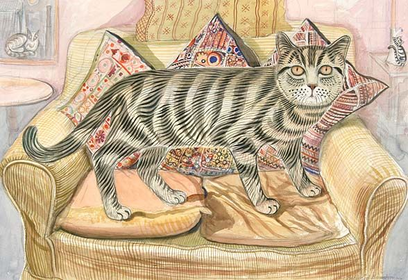 Favourite Cat, Richard Bawden