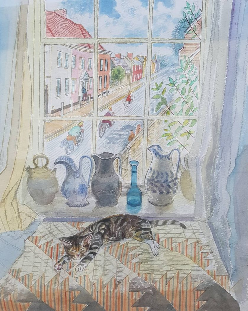 Richard Bawden, Cat on the Table