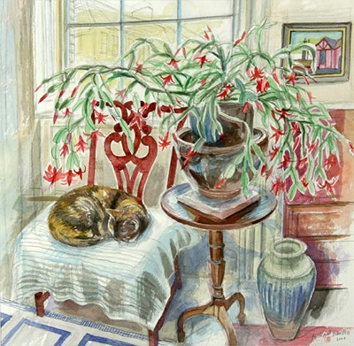 Sasha and the Christmas Cactus, Richard Bawden
