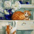Cat Mischief, Maria Pavlova