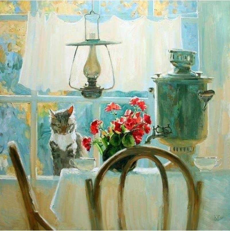 Cat Verandah, Maria Pavlova