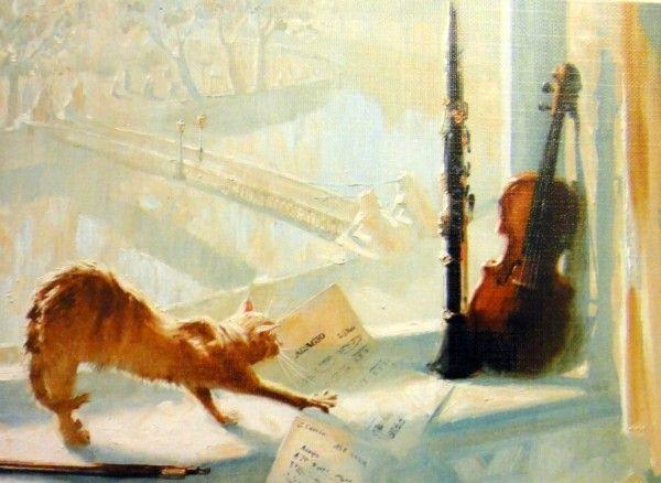 Musical Cat, Maria Pavlova