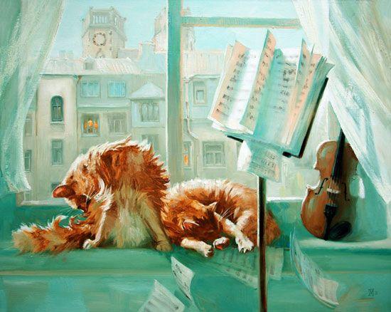 Musical Ginger Cats, Maria Pavlova