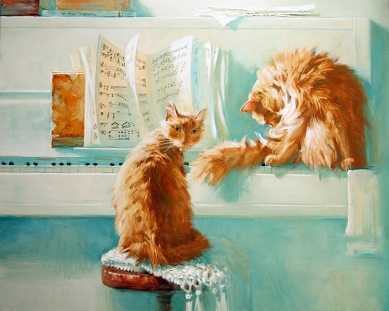 Piano Time, Maria Pavlova