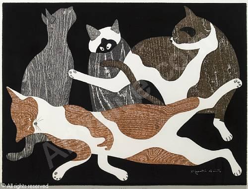 Kiyoshi Saito, Four Cats