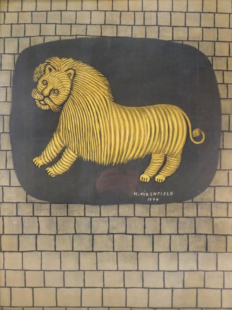 Morris Hirshfield, Lion