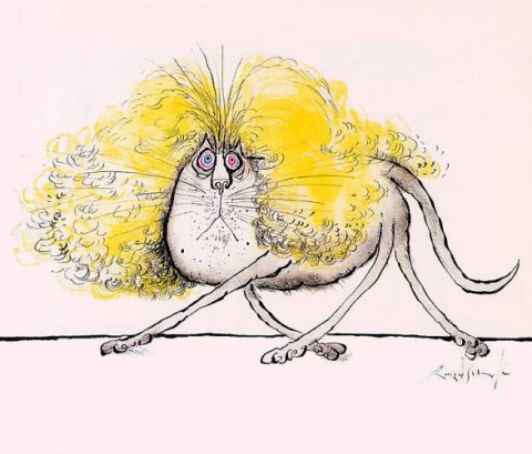 Blond Cat, Ronald Searle
