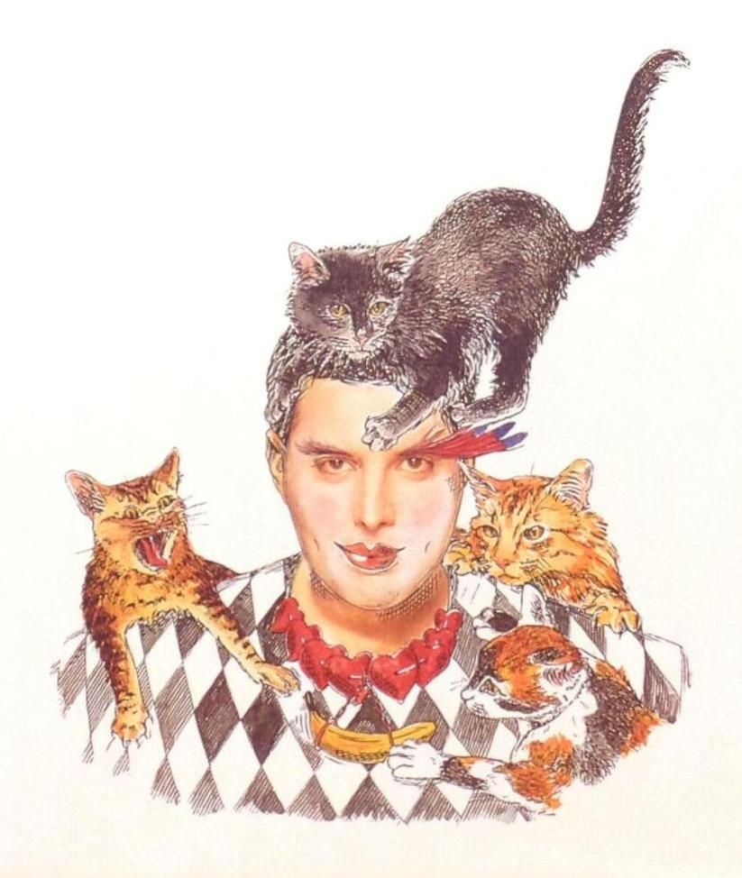 Freddie Mercury Innuendo Artwork