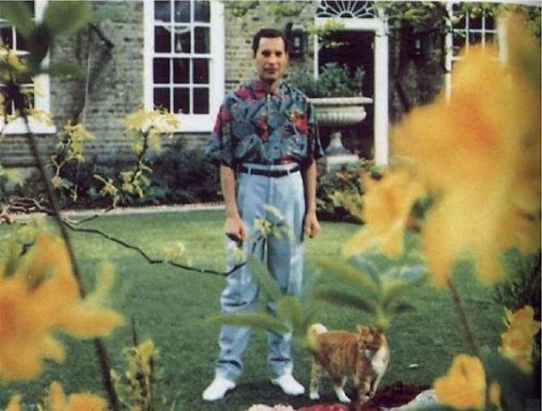 Freddie Mercury and Oscar