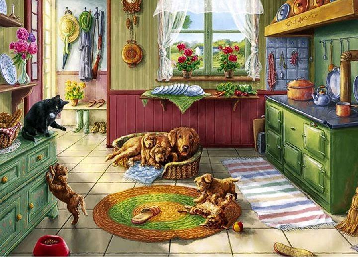 In the Kitchen, Stephen Darbishire