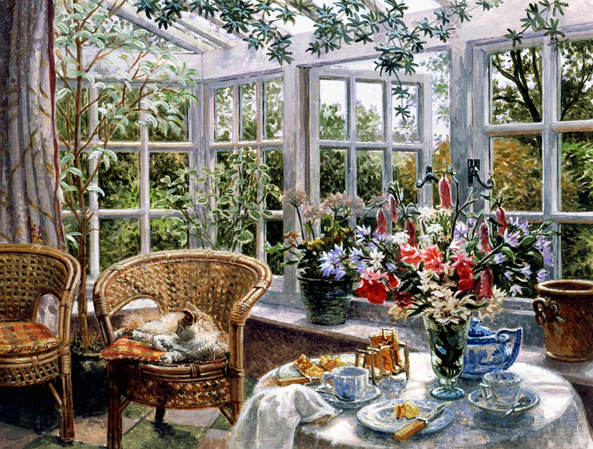 Sunday-Morning with Cat, Stephen Darbishire