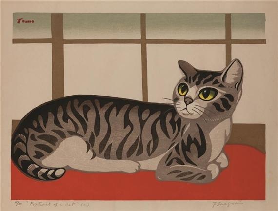 Portrait of a Cat, Inagaki