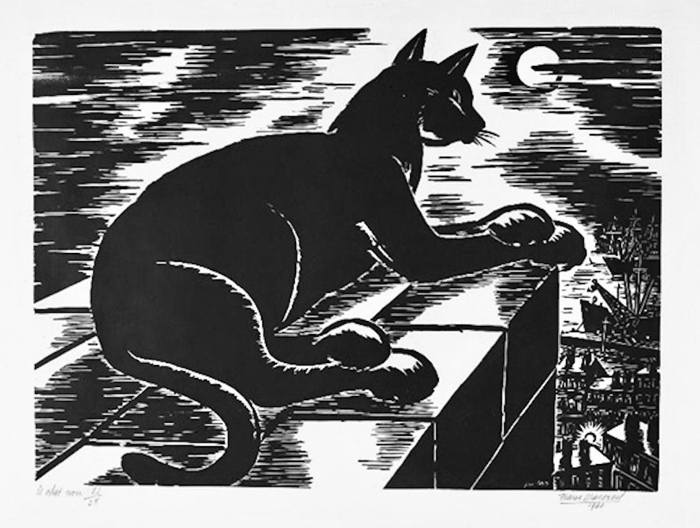 Black Cat 2 Frans Masereel