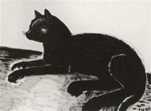 Black Cat Frans Masereel