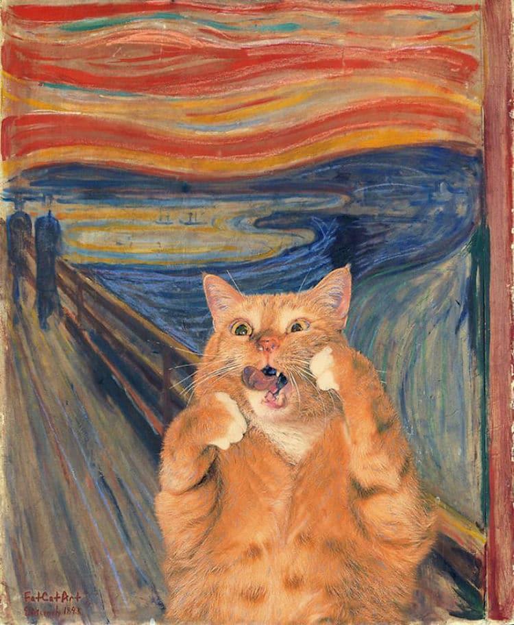 Svetlana Petrova, Fat Cat in The Scream